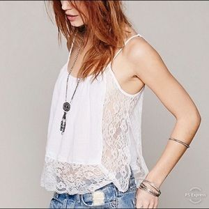 Intimately Free People Outskirts Lace Trim Cami